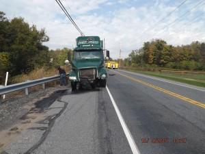 10-9-15 FATAL CRASH RT 73 CAR STRIKES TRACTOR TRAILER - Boyertown
